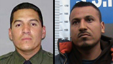 BP Agent Rosas on Left and Marcos Manuel Rodriguez Perez on the Right. (Photo Credit: Fox News)