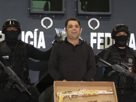 El Molca was presented following his arrest on September 10 in Edomex. Photo: La Crónica de Hoy