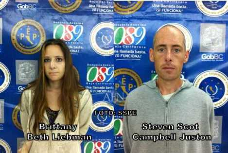Brittany Liebman and Campbell Juston. Image: SSPM.