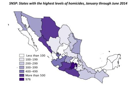Source: Justice in Mexico.